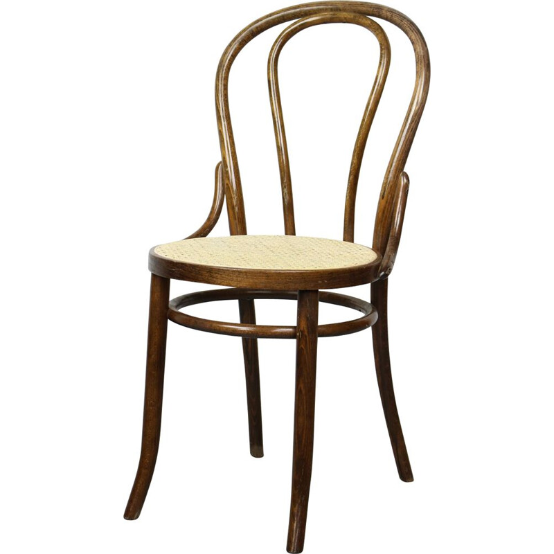 Vintage N 18 Brown Chair by Michael Thonet, 1of 3