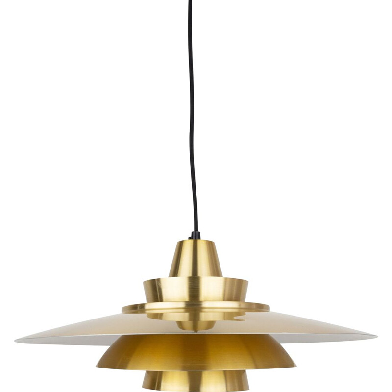 Danish vintage pendant lamp Superlight, Denmark, 1970