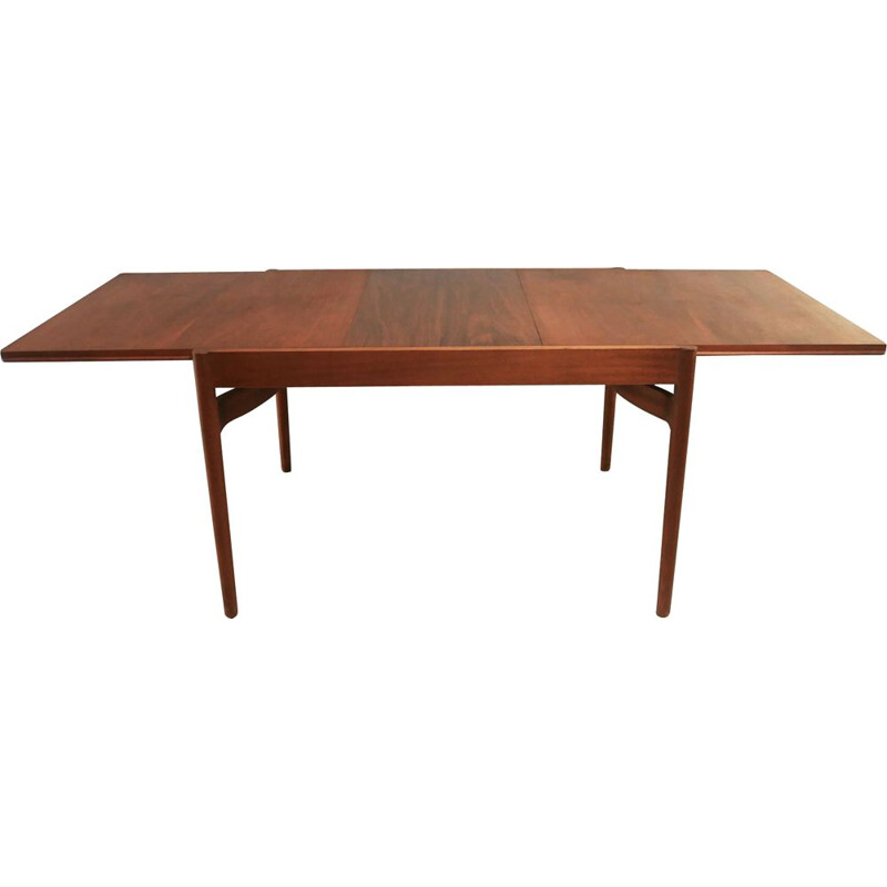 Mid century extending dining table Danish 1960