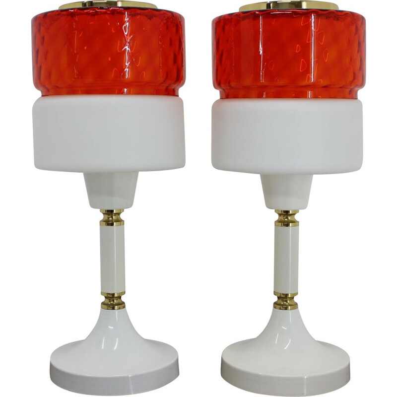 Pair of Big vintage Table Lamps 1960s