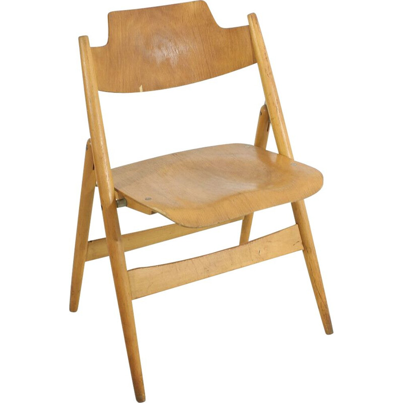 Vintage chair SE 18 by Wilde & Spieth Egon Eiermann