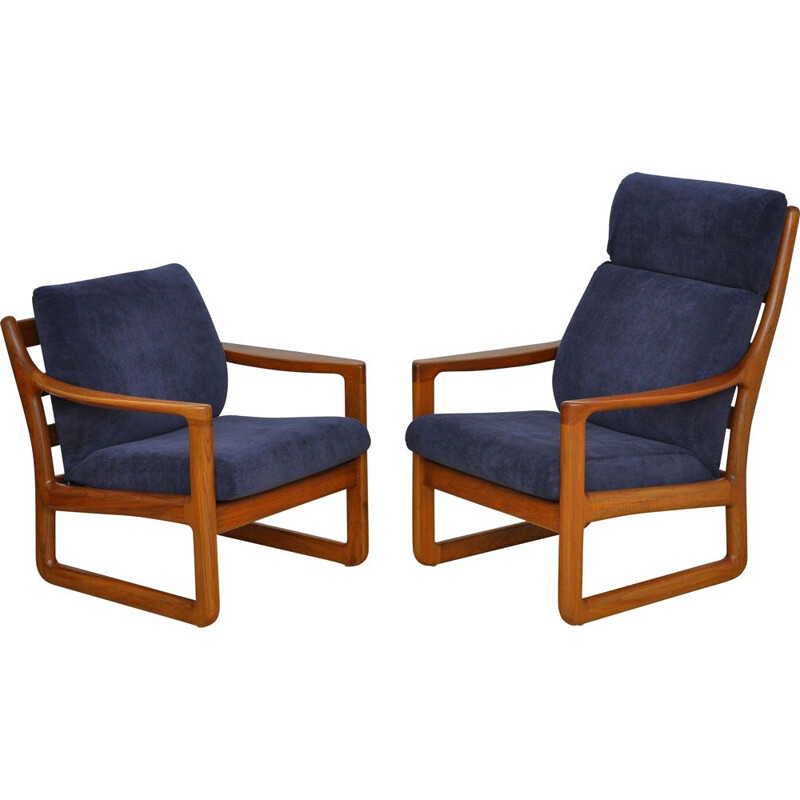 Pair of Vintage armchairs from Silkeborg Danish 1960s