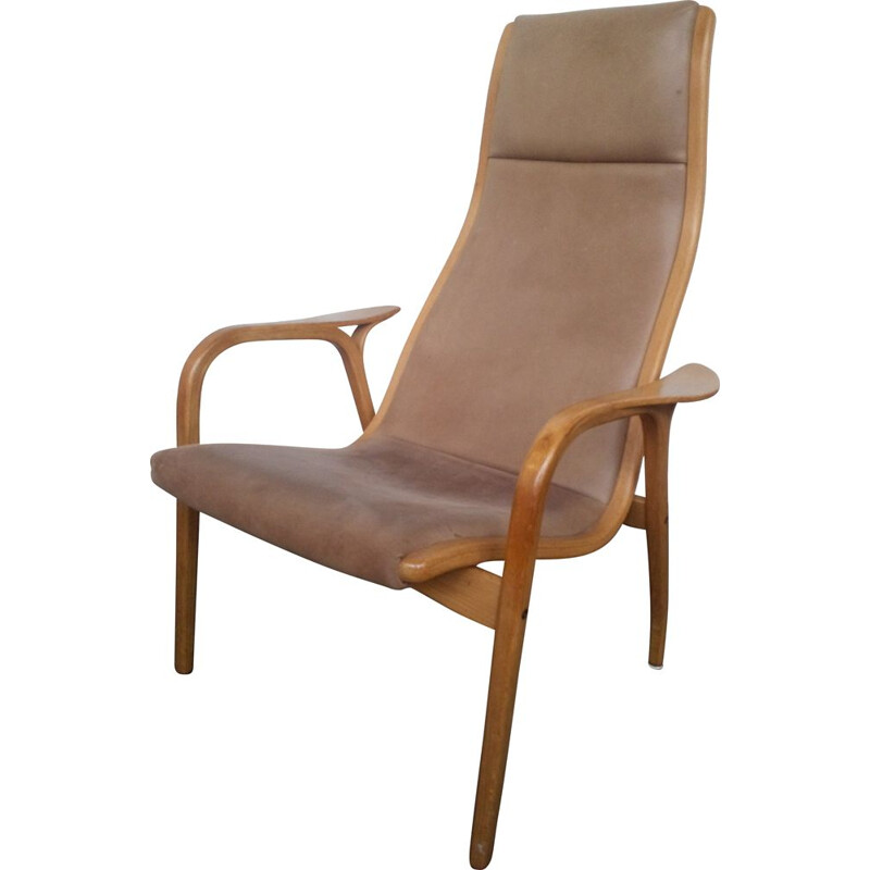 Vintage Lamino chair from Yngve Eckström for Swedese, sweden