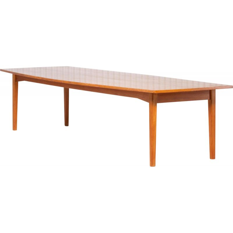 Vintage Teak conference table Danish