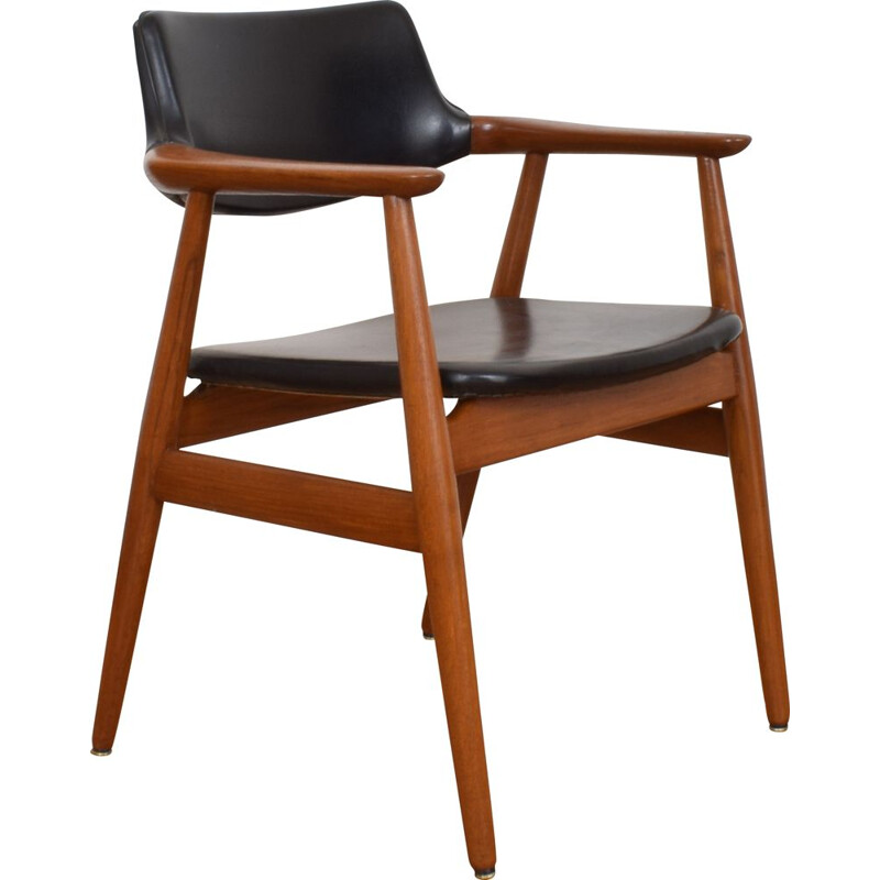 Mid Century Chair By Svend Åge Eriksen For Glostrup, Danish 1950s