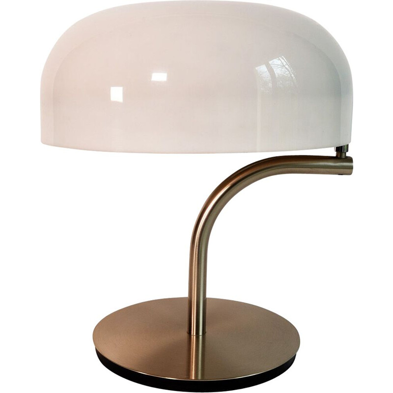 Vintage Table Lamp rotatable by Giotto Stoppino for Valenti Luce Swiveling 1970s