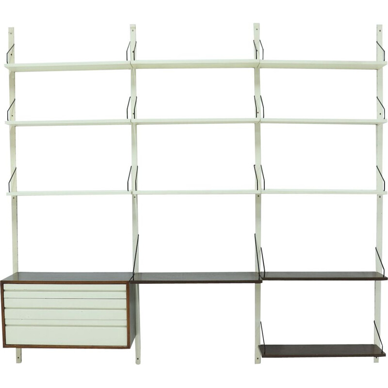 Vintage Royal System Wall Unit Poul Cadovius 1960s