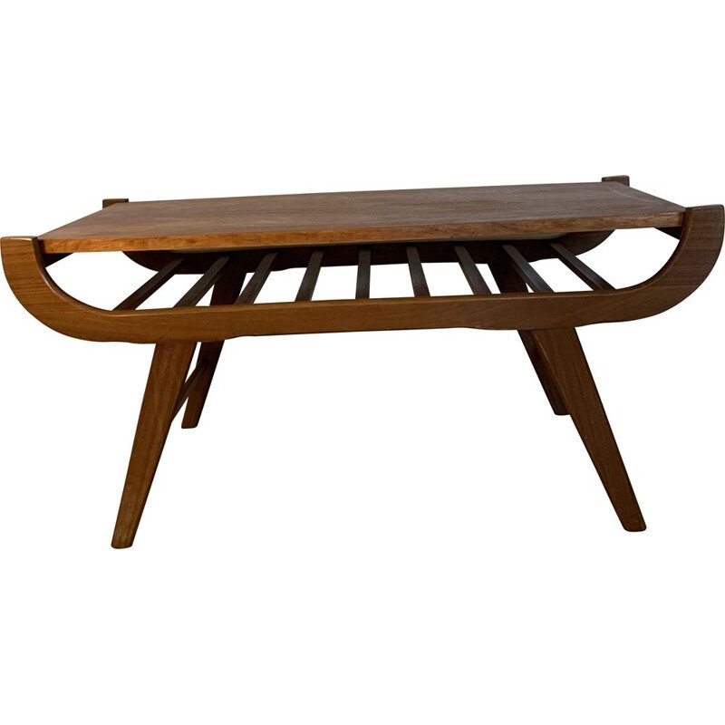 Vintage Coffee Table Louis Van Teeffelen 1960s