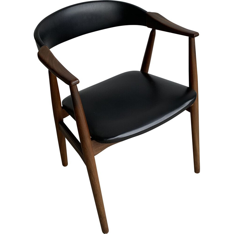 Vintage Teak Chair From Farstrup Møbler Danish 1960s