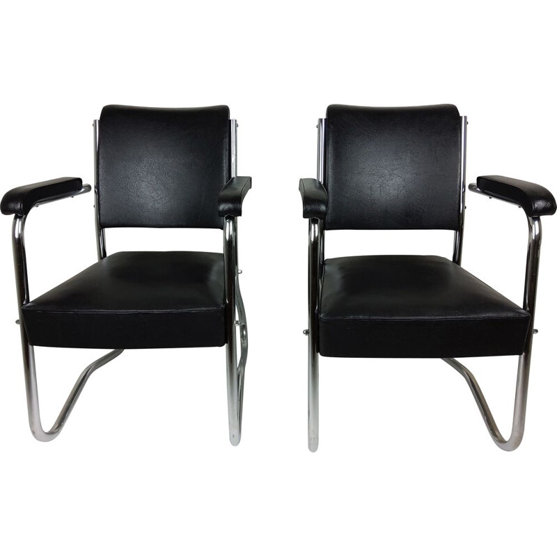 Pair of vintage armchairs 1950s
