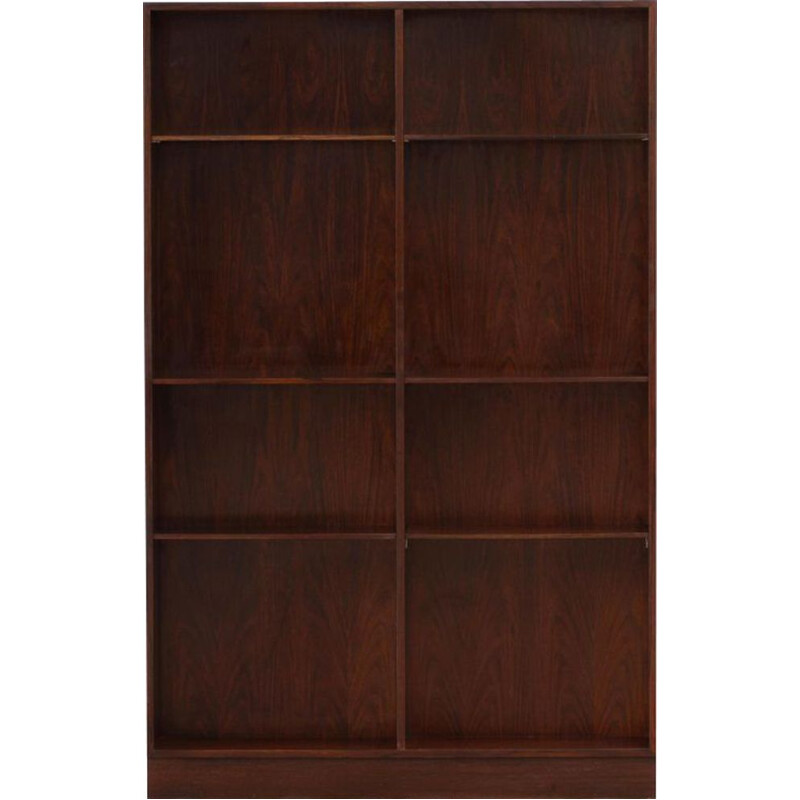 Vintage Danish Rosewood Library by Omann Jun 1960s