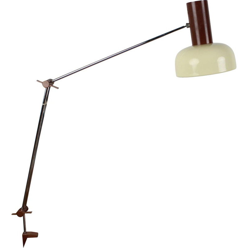 Mid-century adjustable table lamp by Josef Hůrka for Napako 1960s
