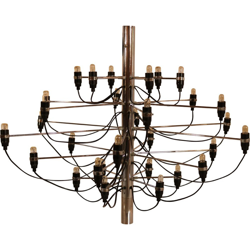 Vintage Chandelier '209730' by Gino Sarfatti for Arteluce  Italy 1960s