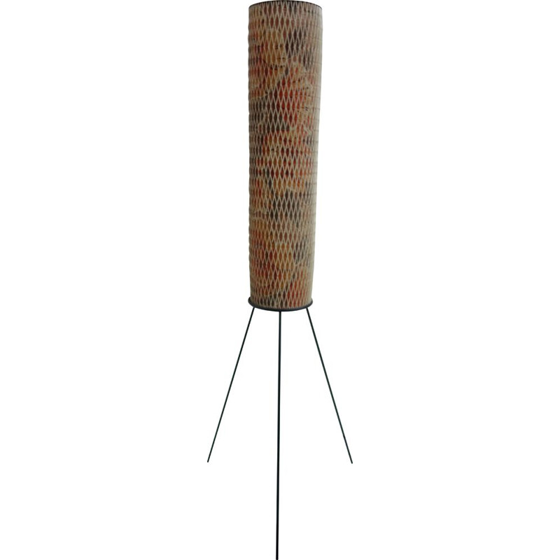 Vintage Rocket shape floorlamp by Josef Hurka for Napako 1960s