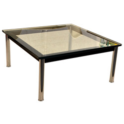 "Coffee table ""LC10"" Le Corbusier - 1980s"