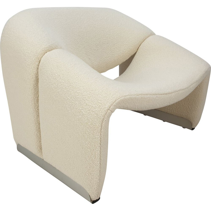 Vintage armchair F598 Groovy Chair by Pierre Paulin for Artifort 1980