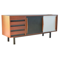 """Sideboard """"Cansado"""" Charlotte PERRIAND - 1960s"""