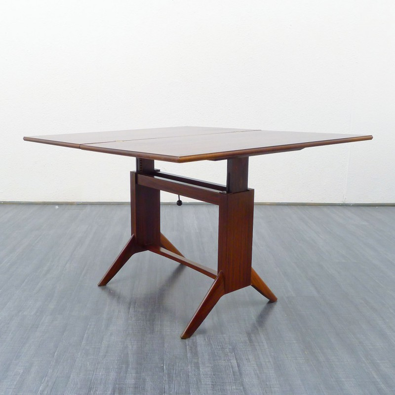 Adjule Dining Table In Rio Rosewood 1950s
