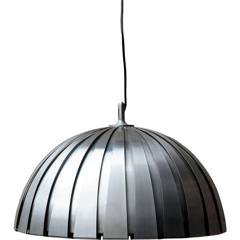 Vintage Suspension lamp Calotta martinelli 1970