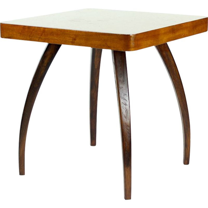 Vintage Spider Coffee Table By Jindrich Halabala, Czechoslovakia, 1930