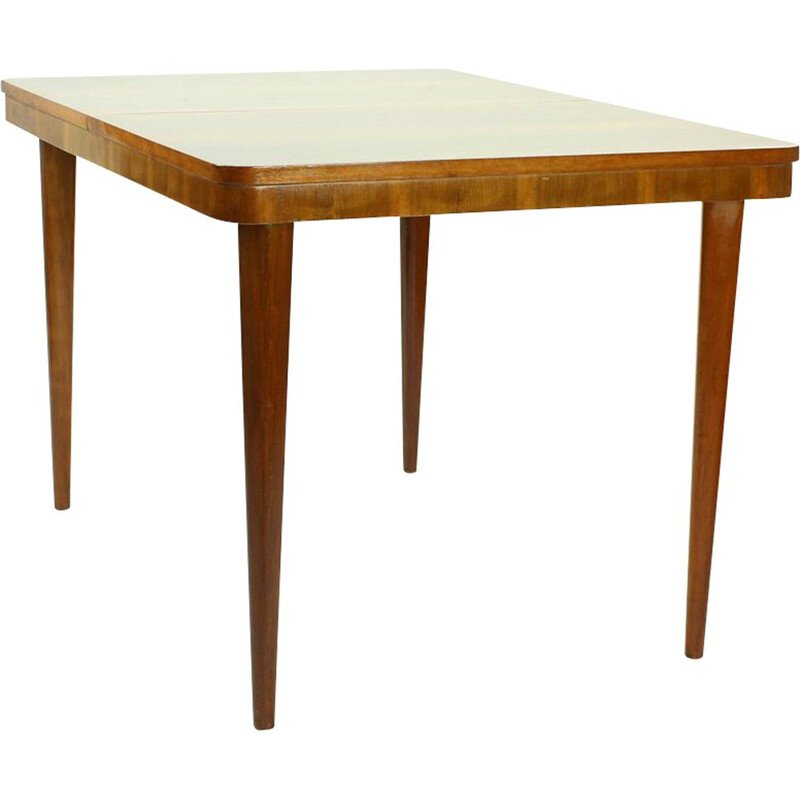Large vintage Extendable Dining Table By Cesky Nabytok, Czechoslovakia 1960s