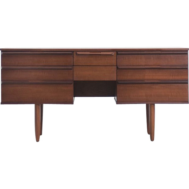 Mid-Century Teak Desk by Avalon Danish  1960s