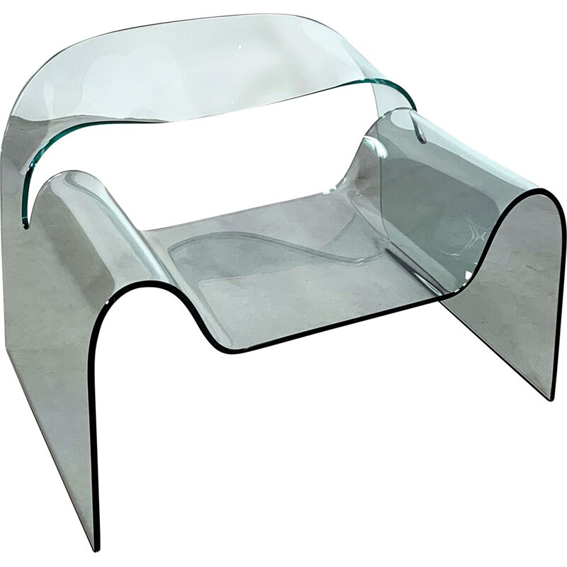 Vintage Ghost Chair by Cini Boeri for Fiam, 1990s