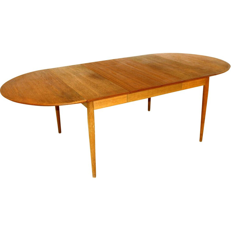 Vintage swedish dining table 1960