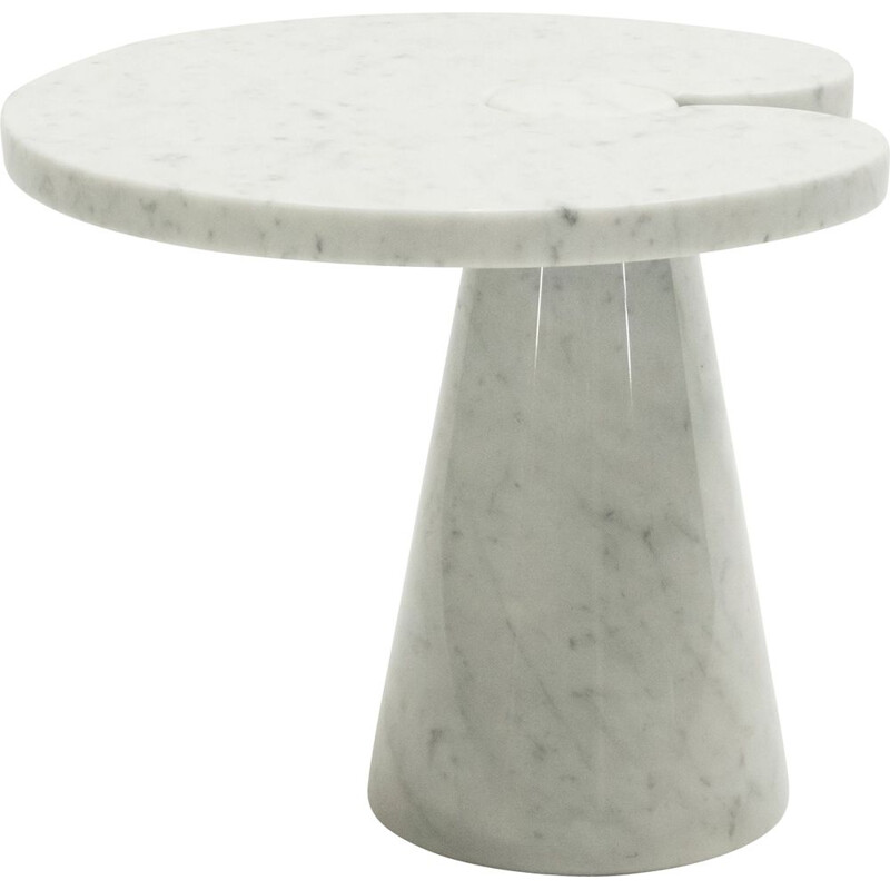 Vintage marble side table Angelo Mangiarotti for Skipper 1970