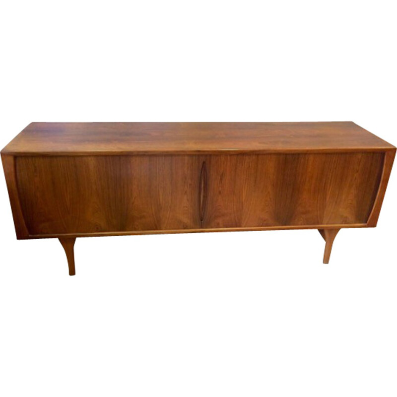 Bruno Hansen Scandinavian sideboard in rosewood and oak, Henning KJAERNULF - 1960s