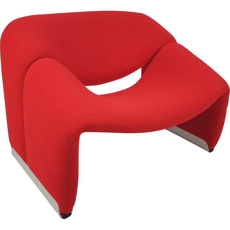 Vintage Model F598 Groovy Lounge Chair by Pierre Paulin for Artifort, 1980s