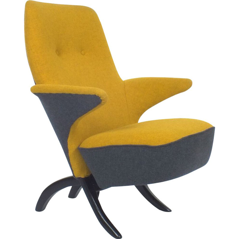 Vintage Pinguïn chair by Theo Ruth for Artifort 1953