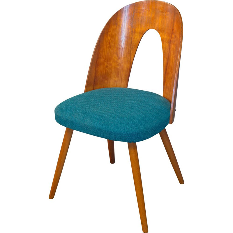 Mid Century Dining Chair by Antonin Suman for Mier Topolcany Factory Czechoslovakia
