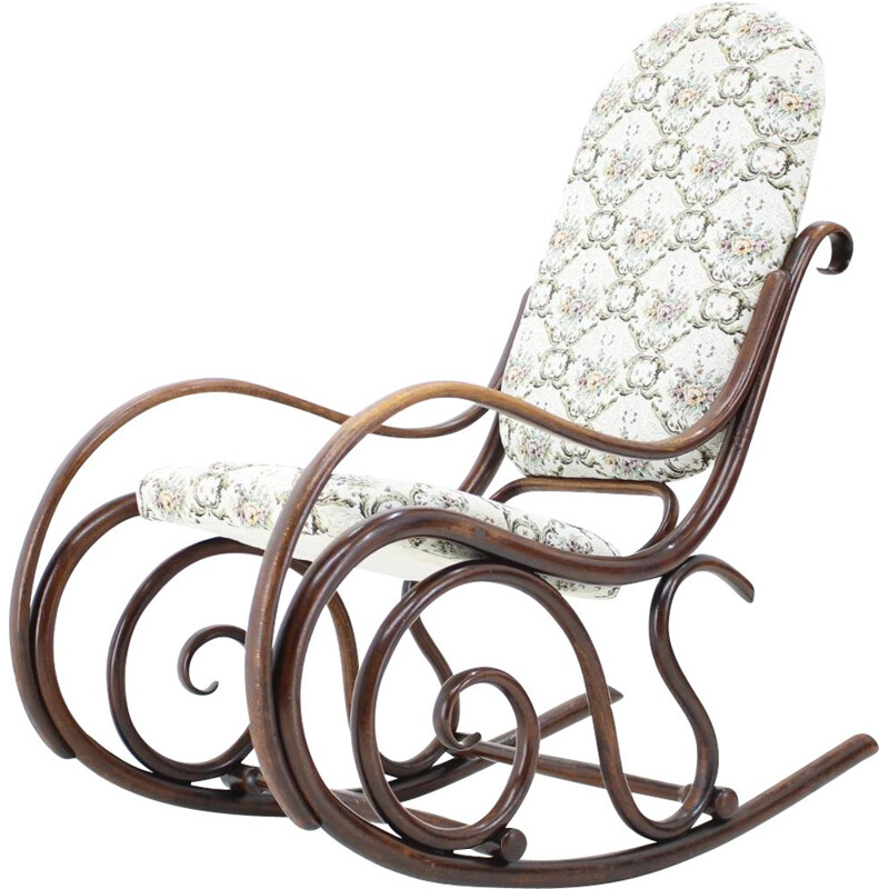 Rocking chair vintage Gebruder Thonet 1881