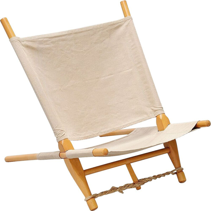 Vintage lounge chair Ole Gjerlov Knudsen for Cado Denmark 1958