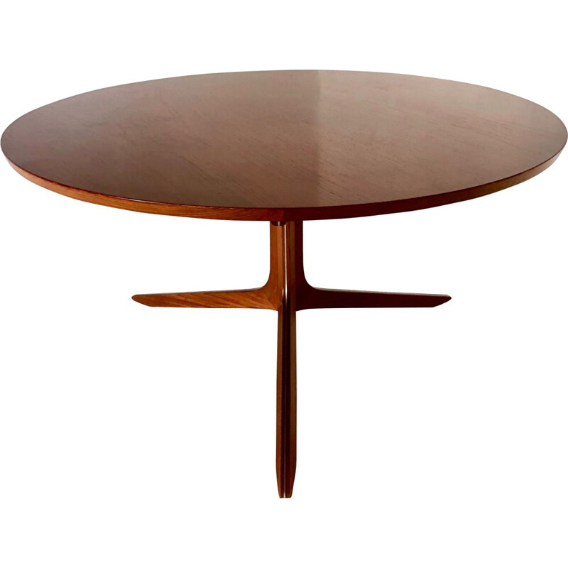 Vintage teak coffee table by Hvidt and Molgaard for France and Son