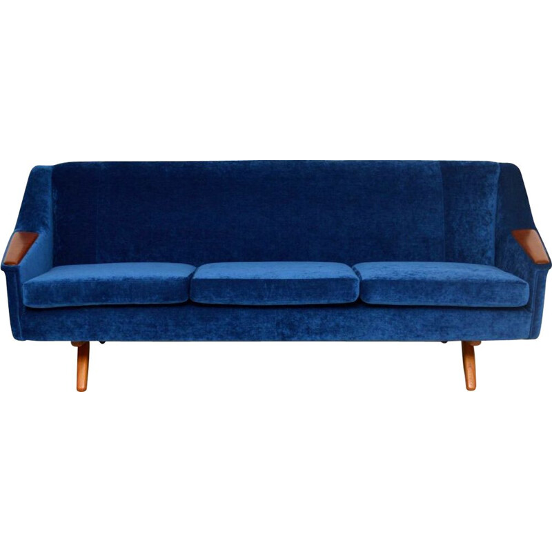 Vintage sofa by Illum Wikkelso Danish 1960