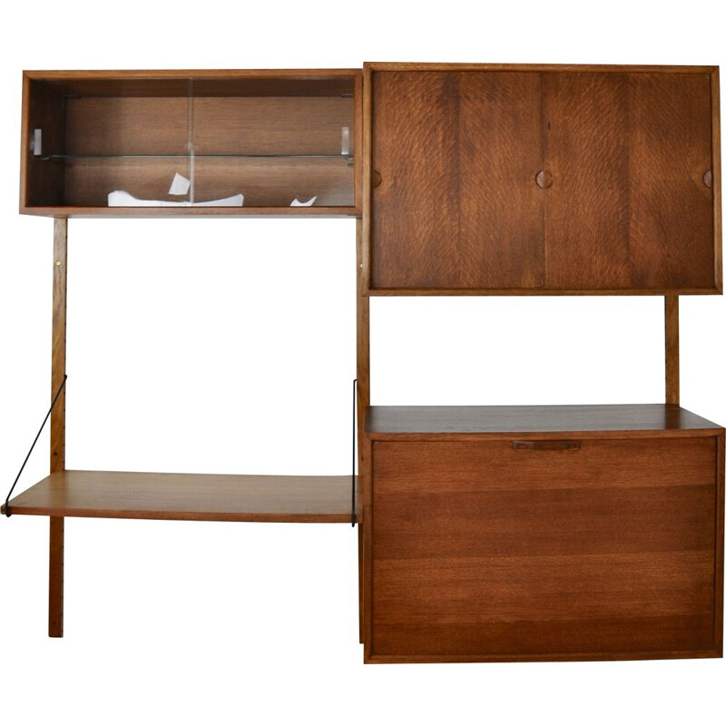 Vintage Wall Unit Royal System by Poul Cadovuis 1960s