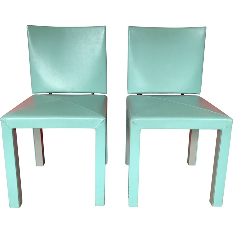 Pair of Arcara vintage chair by Paolo Piva and B&B Arcadia Italia