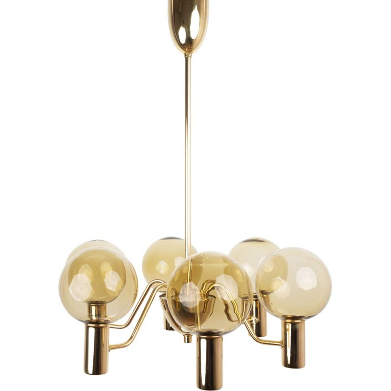 Vintage chandelier Patricia T3722 by Hans-Agne Jakobsson,Swedish  1950s