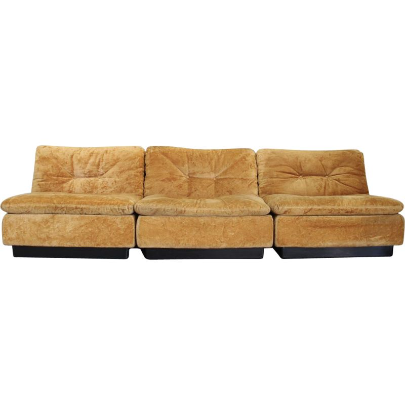 Vintage Lounge sofa from Saporiti, Italy 1970s