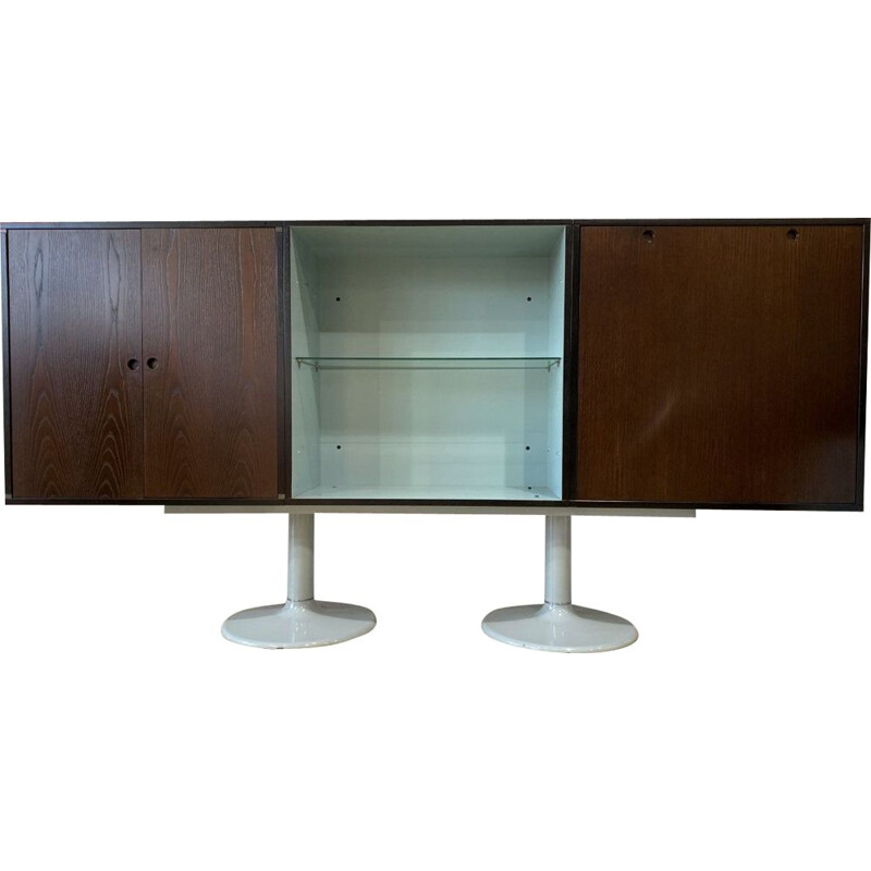 Vintage Console table buffet Le Corbusier for Cassina 1985