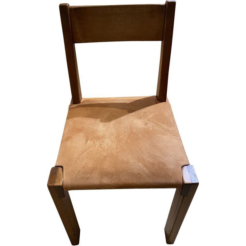 Vintage chair S11 Pierre Chapo 1944