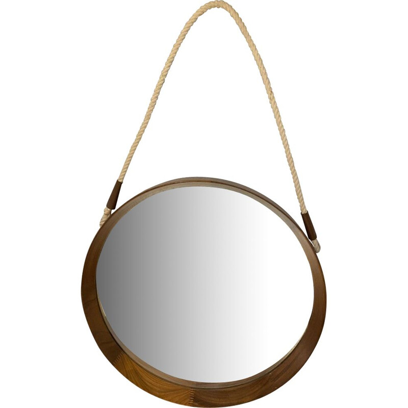 Vintage circular mirror Uno and Osten Kristiansson 1960