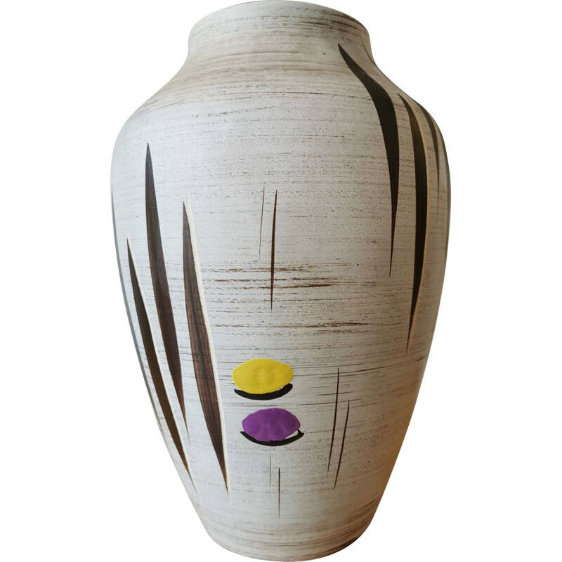 Vintage ceramic vase, Germany 1960