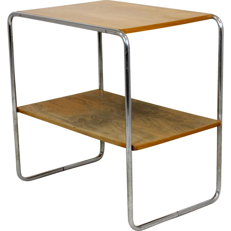 Vintage  B12 Console Table by Marcel Breuer, Art Deco 1940s