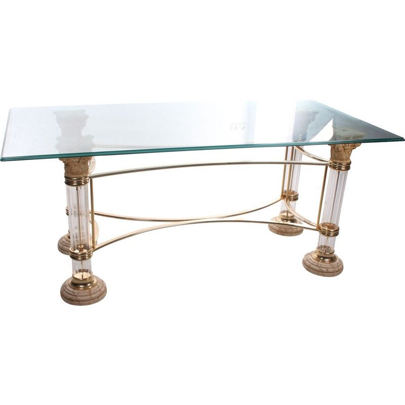 Vintage dining table  Hollywood Regency