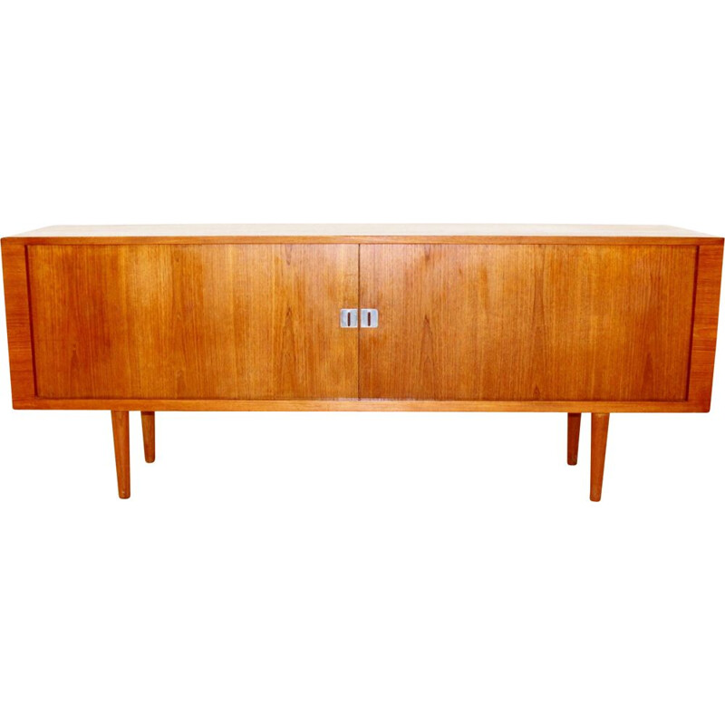 Vintage teak sideboard by Hans J. Wegner for the Danish Ry Møbler factory house 1960