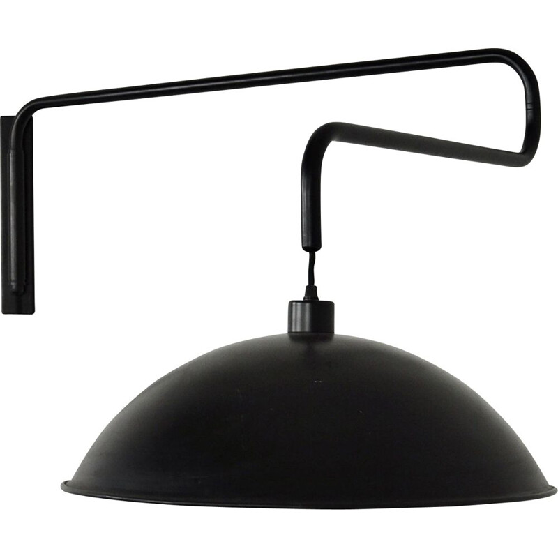 Vintage wall lamp with extensible arm, Italy 1970