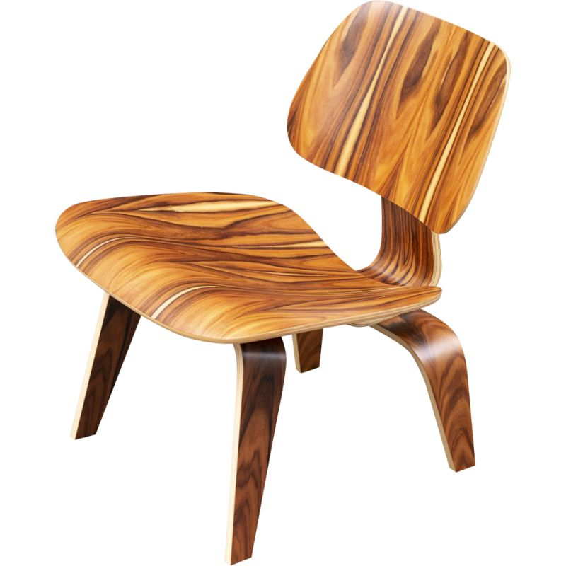 Vintage LCW Chair in rosewood santos from Charles &Ray Eames Herman Miller 2000
